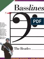 The Beatles Basslines