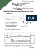 Teste Q2.1 n.º 1 - V1 10-3