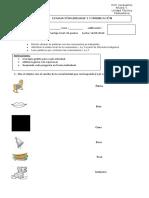 1° Evaluación Lenguaje y Comunicación