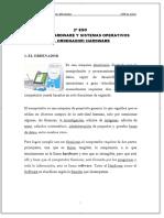 2º ESO BLOQUE_ HARDWARE Y SISTEMAS OPERATIVOS EL ORDENADOR_ HARDWARE - PDF 4to actividad y tarea