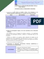 ACTIVIDAD 3.3 INTRODUCCIÓN AL PENSAMIENTO MEDIEVAL