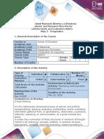 Activity Guide and Evaluation Rubrics - Step 5 - Pragmatics
