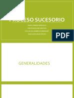 PROCESO SUCESORIO PRESENTACION