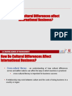 3. Cultural Differences