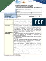 Protocolo de prácticas del laboratorio de Física General