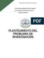 CLASE PLANEAMIENTO DEL PROBLEMA DE INVESTIGACION