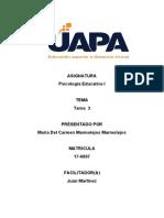 psic. edu. tarea III