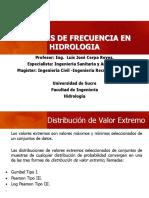 CLASE HIDROLOGIA DISTRIBUCIONES EXTREMAS
