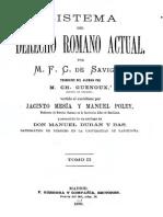 Savigny, F. C. (1879). Sistema del derecho romano actual. Vol. II (J. Mesía & M. Poley, Trads.).pdf