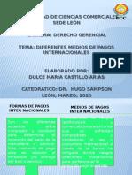 MEDIOS DE PAGOS INTERNACIONALES