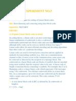 INFO report 5
