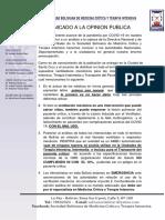 Sociedad Boliviana de Medicina Crítica y Terapia Intensiva