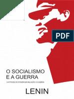 LENIN, Vladimir. O Socialismo e a Guerra