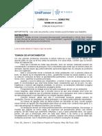 Modelo de Forum Avaliativo