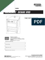 Manual de Partes, Servicio, Operación y Diagramas con VRD (Español)_DC-600