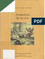 Beltrán Almería, Luis - Anatomía de la risa