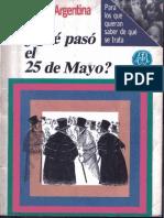 Que pasó el 25 de mayo Quirquincho