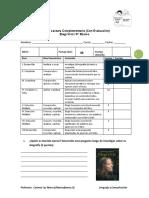 Guía de Lectura Complementaria  Elegí Vivir 8°