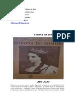 rta. CORONA DE SOMBRAS