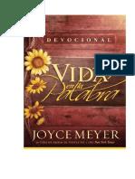 Vida en la Palabra Devocional - Joyce Meyer
