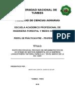 PERFIL DE PRACTICAS - NATURAL FARM SAC 2016