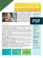 st germans newsletter - 17 may 2020 easter vi