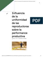 APA _ Influencia de la uniformidad de las reproductoras sobre la performance productiva