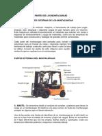 PARTES EXTERNAS DE LOS MAONTACARGAS