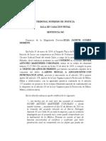 SSCP-TSJ Nulidad de juicio - abuso sexual