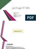 Projet TP TRPL