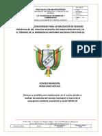 PROTOCOLO DE BIOSEGURIDAD CONCEJO MUNICIPAL  MIRAFLORES BOYACA.