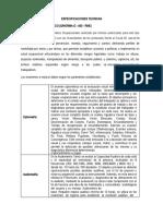 ESPECIFICACIONES TECNICAS EXAMEN MEDICO OCUPACIONAL