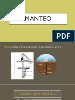 EXPOSICIÓN MANTEO