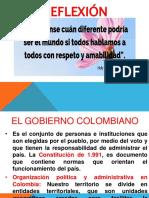 Sociales  5 clase 1 GOBIERNO COLOMBIANO