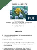 12 Immunosuppressants