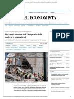 Efecto del sismo en el PIB depende de la vuelta a la normalidad _ El Economista