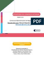 OPERATORIA DE COMERCIO EXTERIOR CLASE 2