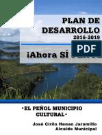 Plan de Desarrollo 2016-2019  de El Peñol