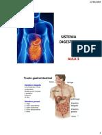 Sistema Digestivo - Aula 3