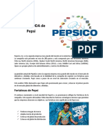 Análisis FODA de Pepsi