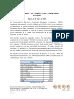 COMUNICADO No. 1 DE  LA VISAE  PARA  LA COMUNIDAD UNADISTA.pdf
