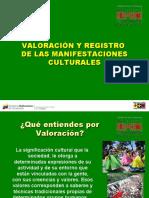 6 Valoración y Registro de Las Manifestaciones Culturales