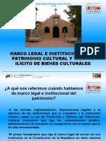 8 Marco Legal e Institucional Del Patrimonio Cultural y Tráfico Ilícito de Bienes (1)
