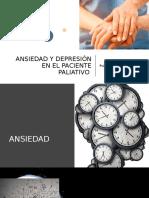 ANSIEDAD Y DEPRESIÓN EN EL PACIENTE PALIATIVO