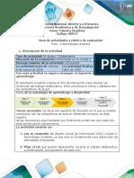 Guía de actividades y rúbrica de evaluación Reto 3 Aprendizaje Unadista-convertido