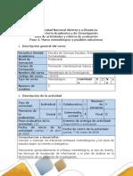 Guía de actividades y rúbrica de evaluación - Paso 4 - Construir el marco metodológico.pdf