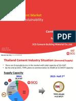 THAILAND CEMENT MARKET