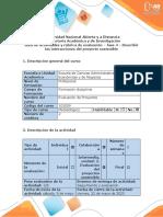 Guía de actividades y rúbrica de evaluación  Fase 4 - Describir las interacciones  del proyecto sostenible.docx