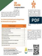 Poster Convocatoria bonos alimentarios