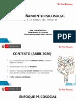 Tema 5 Acompañamiento psicosocial durante la crisis del COVID-19
